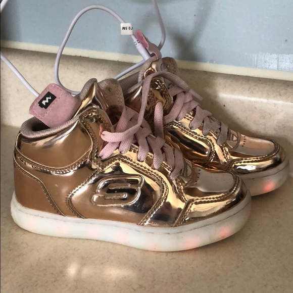 skechers light up shoes charging